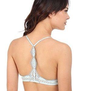 67c6fa385e Free People Intimates   Sleepwear - NWT Free People seafoam green gray bra  size 32b